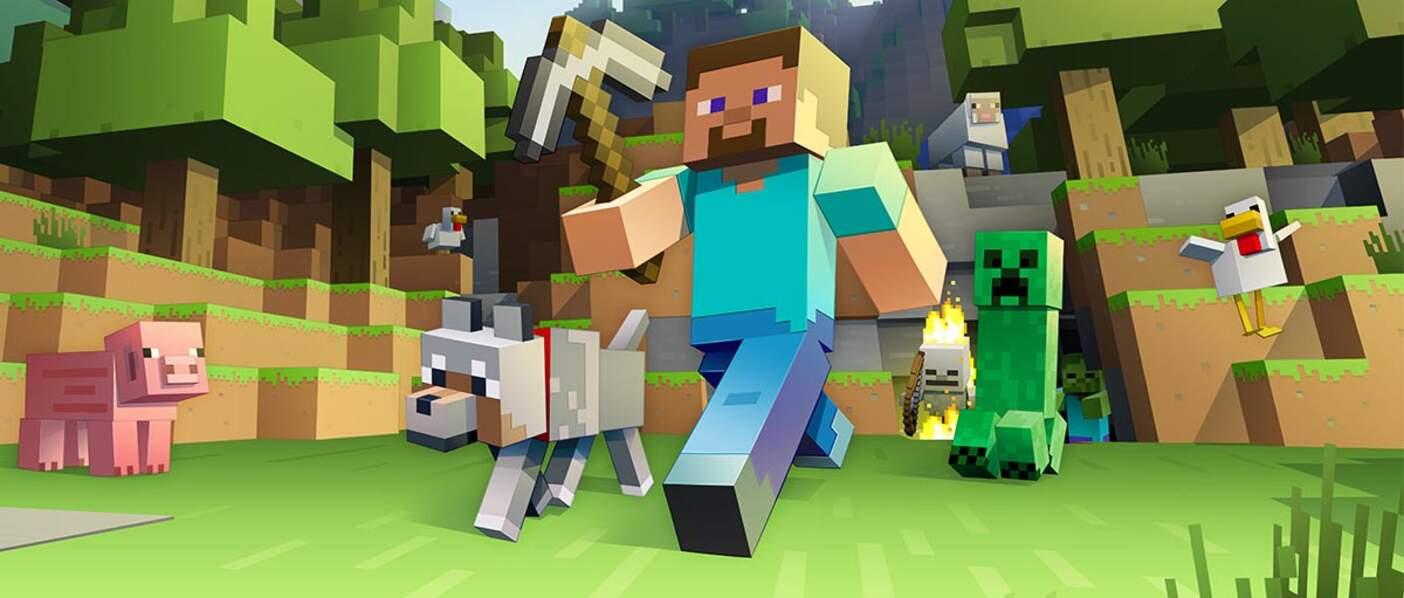 Minecraft (107 millions) : numéro 10
