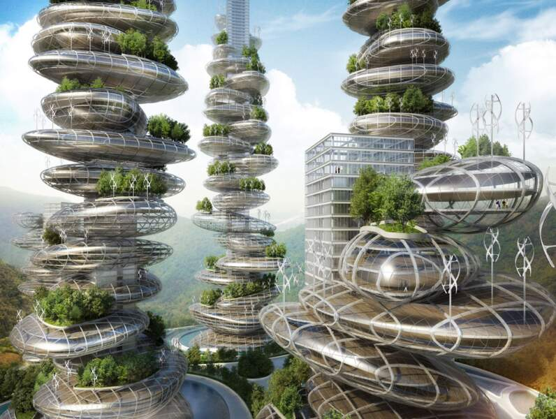 L'architecture fera corps avec la nature : les tours de Shenzhen de Caillebaut (Chine)