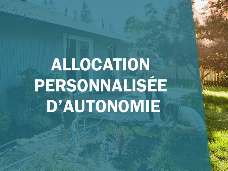 Allocation personnalisée d'autonomie