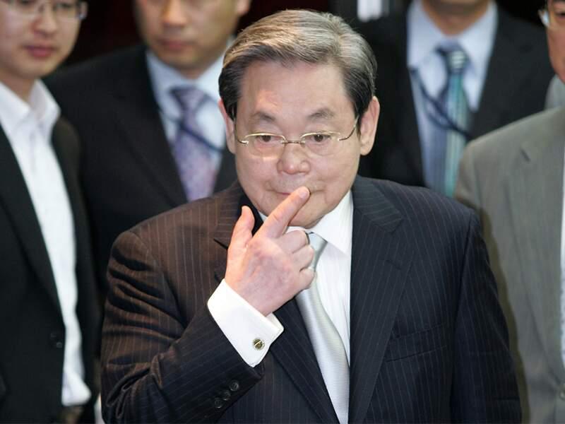 Lee Kun-Hee, Samsung : en Corée, son empire numériqueest un trésor national