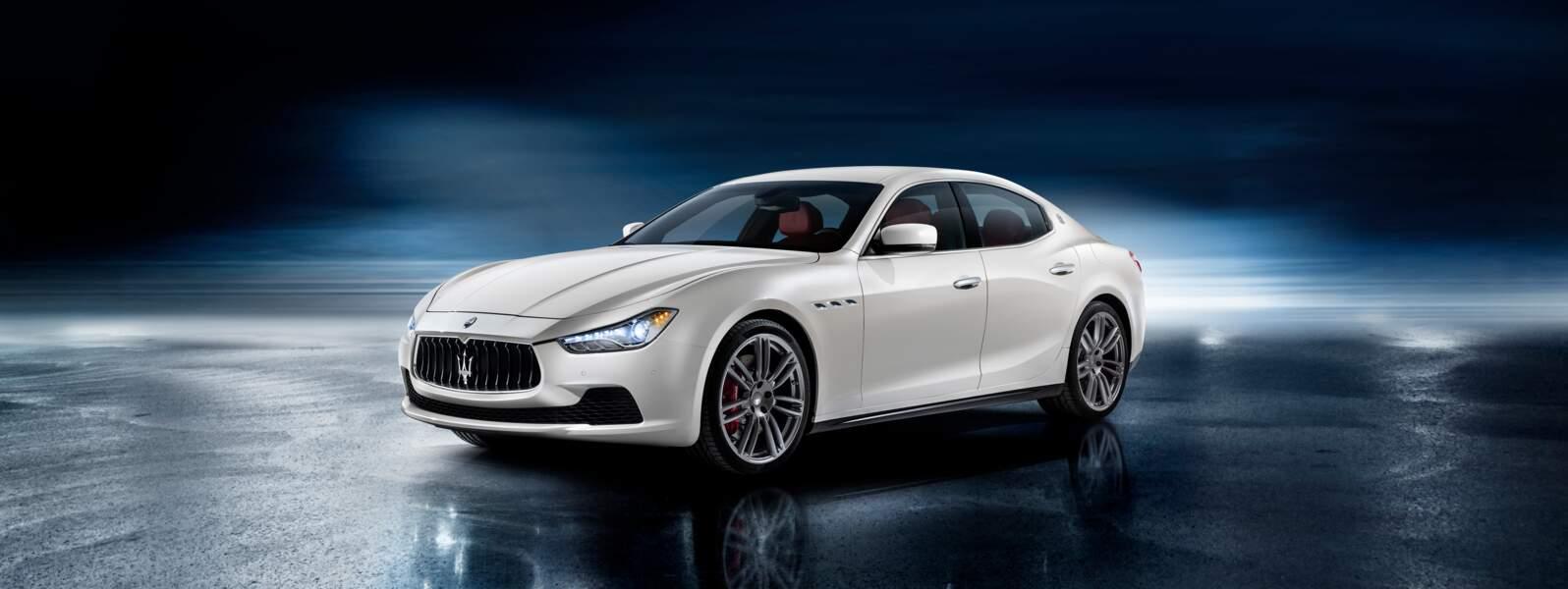 Maserati Ghibli, la familiale la plus rapide du monde
