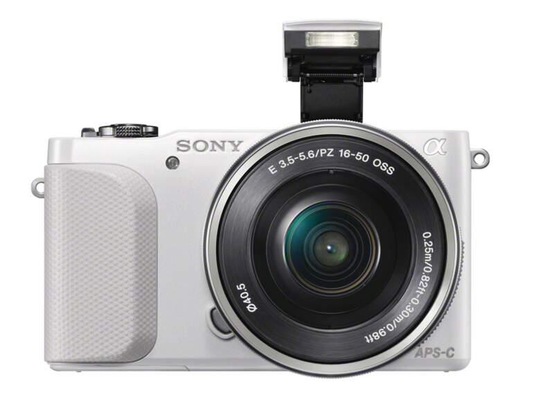 Le meilleur appareil photo hybride entrée de gamme : Sony Nex-3N blanc