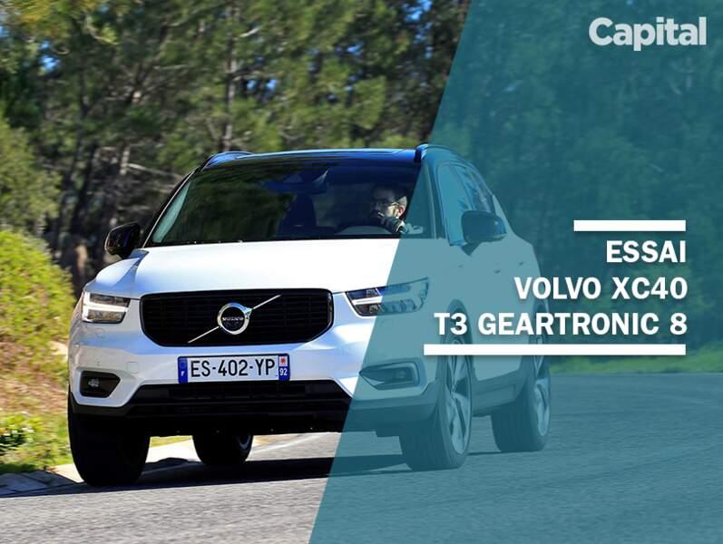 Notre avis sur la Volvo XC40 T3 Geartronic