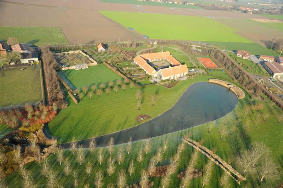 Francis-Charles Pollet : un vaste corps de ferme au grand calme