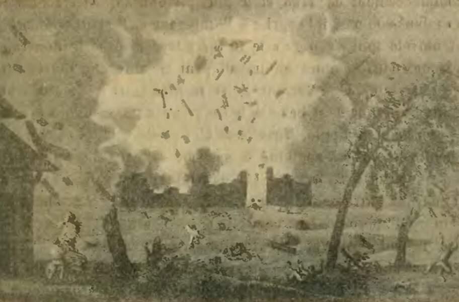 31 AOÛT 1794 : Explosion de la poudrerie de Grenelle à Paris