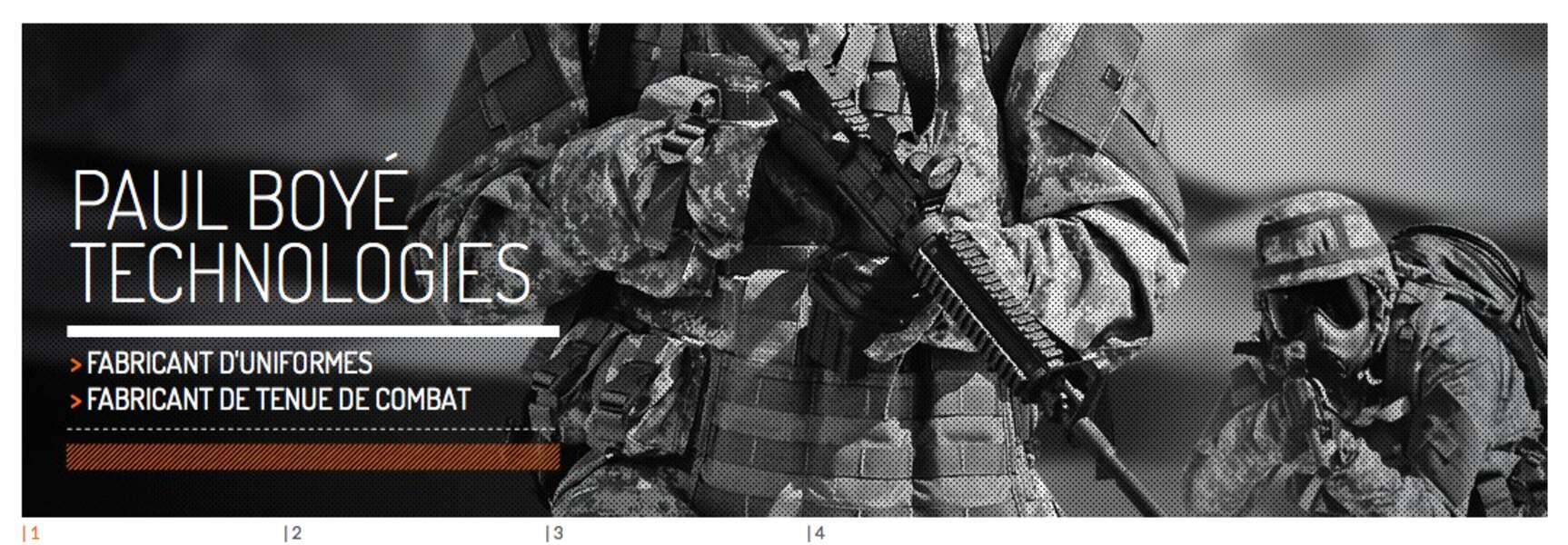 Paul Boyé Technologies (uniformes et équipements de sécurité) : sa tenue NBC habille l'armée US