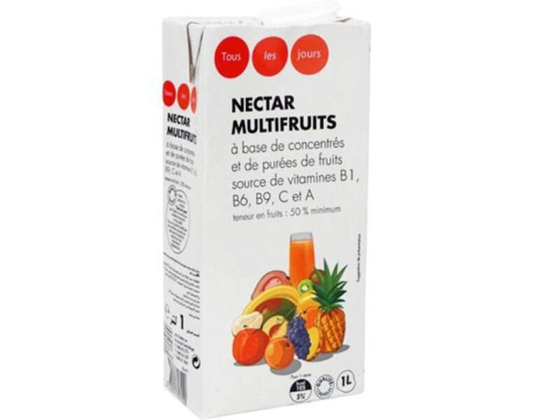 10 - TOUS LES JOURS (CASINO) Nectar Multifruits