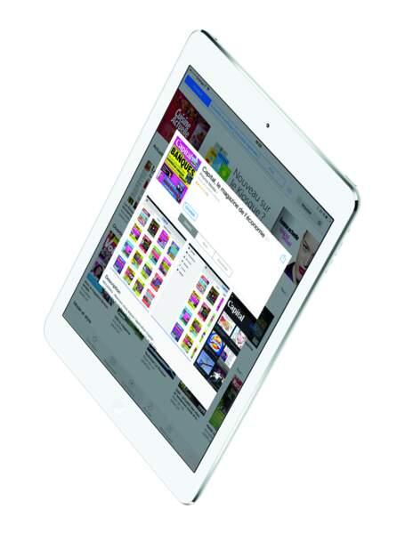 La meilleure tablette haut de gamme : Apple iPad Air