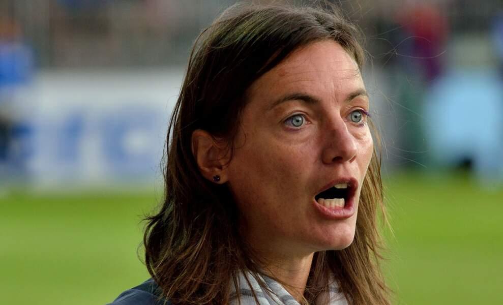 Corinne Diacre, première femme à entraîner une équipe de foot professionnelle