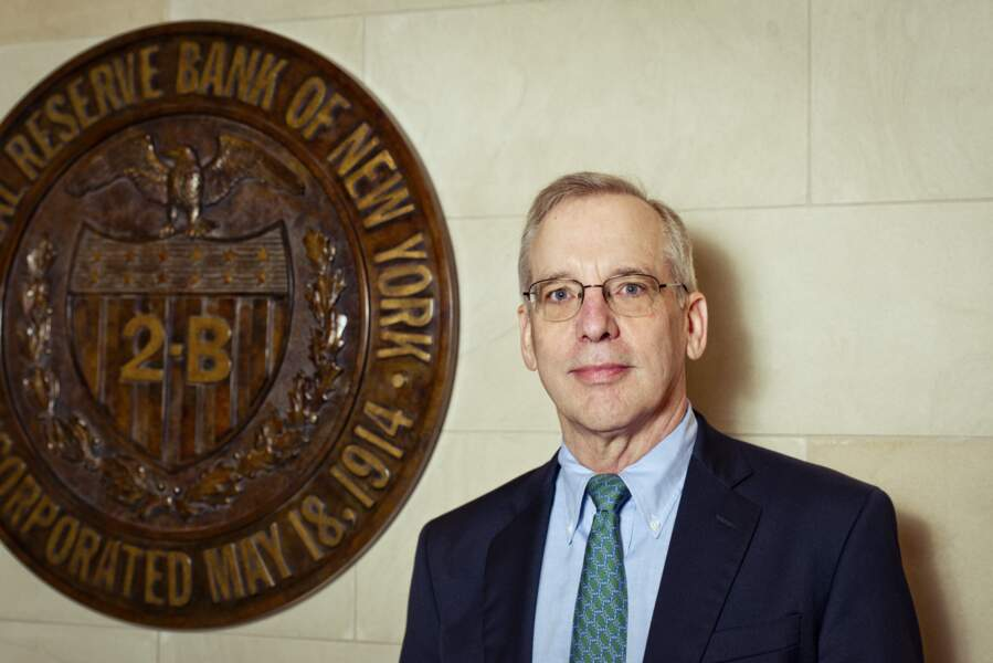 William Dudley, president de la Reserve Federale de New York