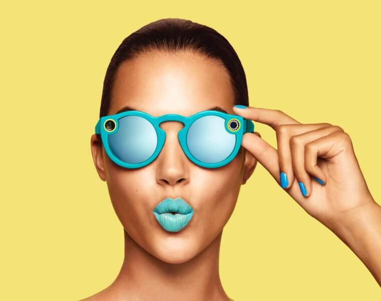 Les lunettes de soleil qui filment vos souvenirs de vacances sur Snapchat
