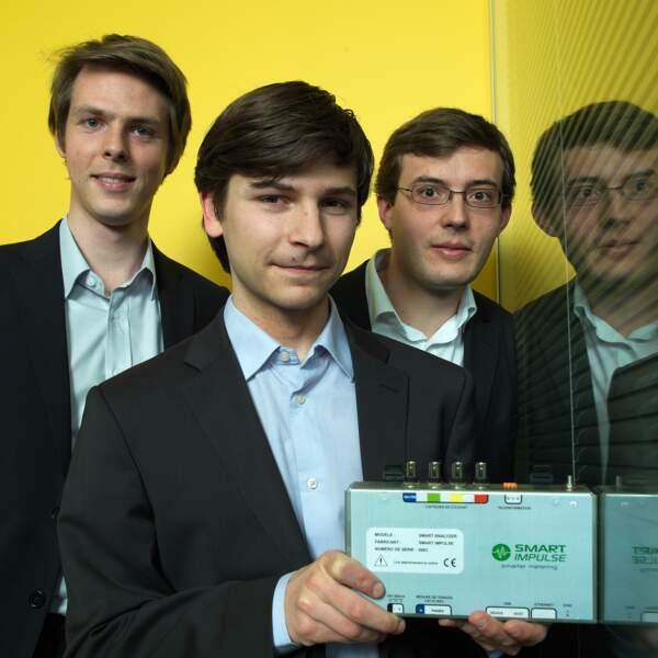 Smart Impulse (Green business) : Charles Gourio, Dorian Tourin-Lebret, et Henri Colas