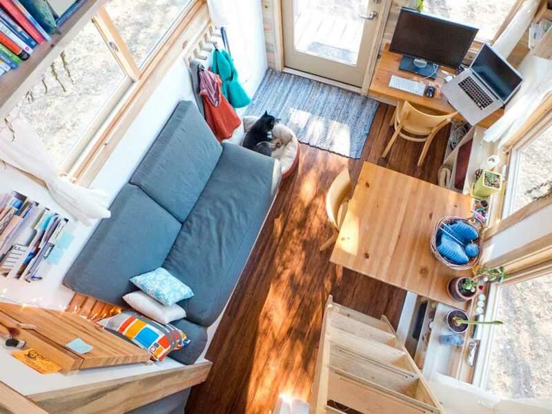 14m2 :  Une mini- maison pour se forcer à posséder moins de choses