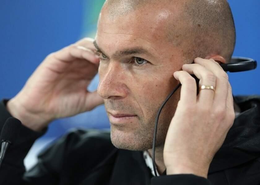 4.Zinédine Zidane (français) : 21 millions d'euros