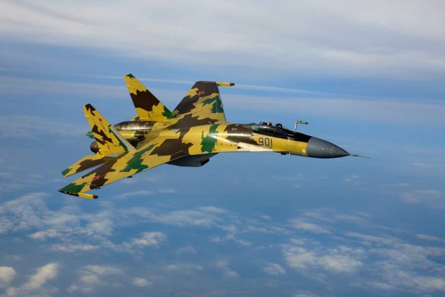 Le chasseur SU-35, le dernier cri de l'aviation militaire russe