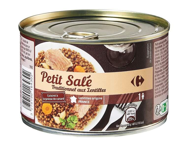 Carrefour - Petit salé traditionnel aux lentilles