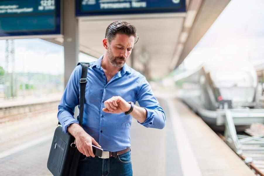 Voyage en train : obtenir réparation pour un retard