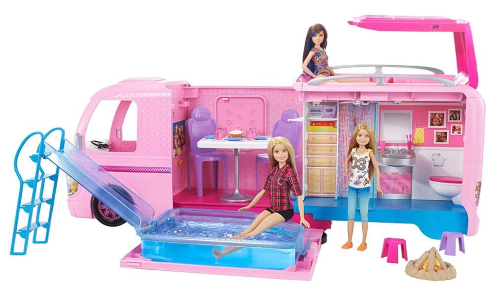 Le camping car transformable Barbie - Mattel