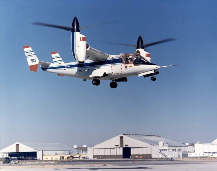 Bell XV-15 : un avion-hélicoptère