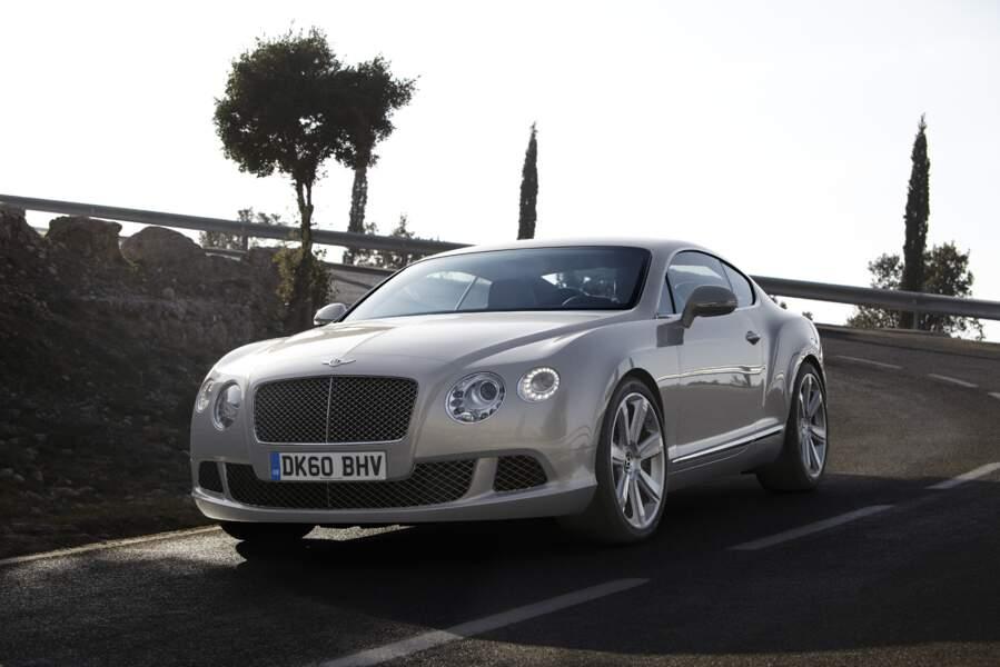 Bentley Continental GT, puissante et confortable