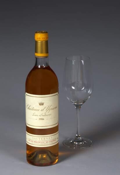 Château d'Yquem, 1er cru supérieur Sauternes, 1986 (3 bouteilles)