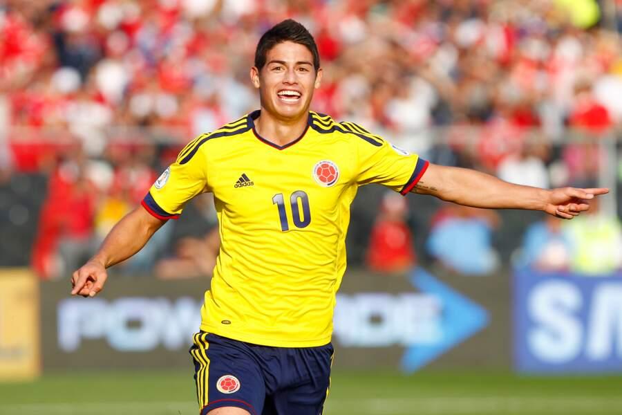 James Rodriguez (Colombie) : 37 millions d'euros