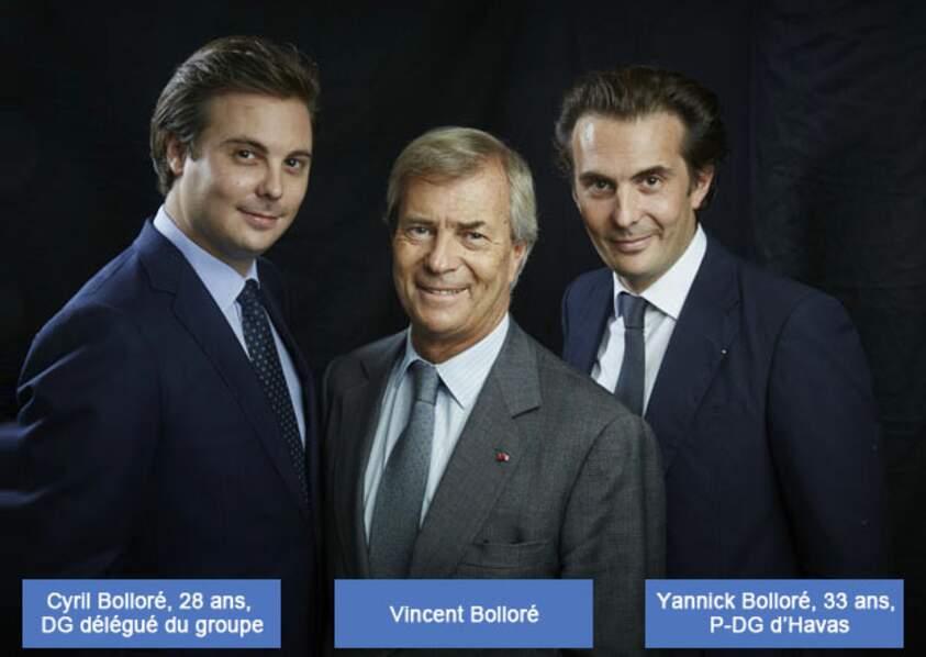 Groupe Bolloré : Cyrille n'est jamais loin de papa, Yannick est en première ligne chez Havas