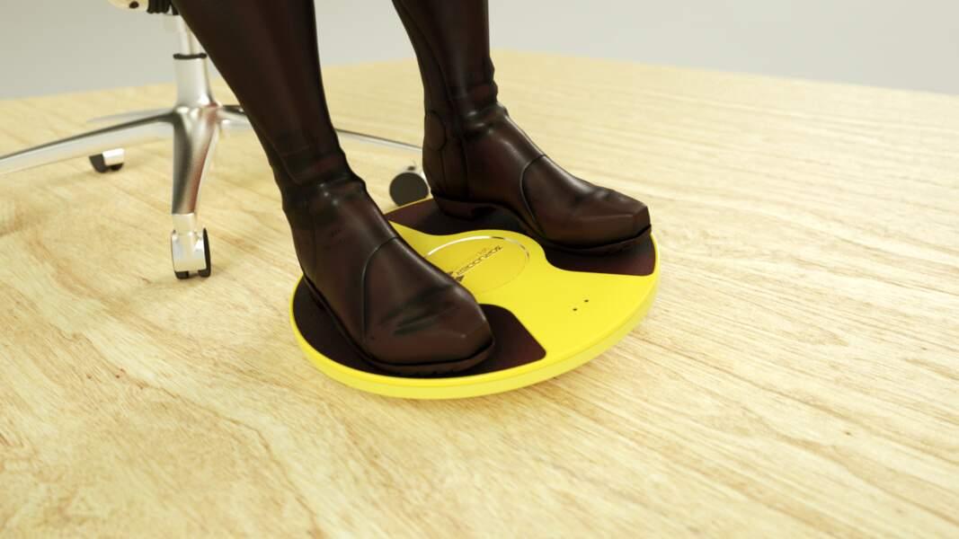 3D Rudder : la réalité virtuelle avec les pieds