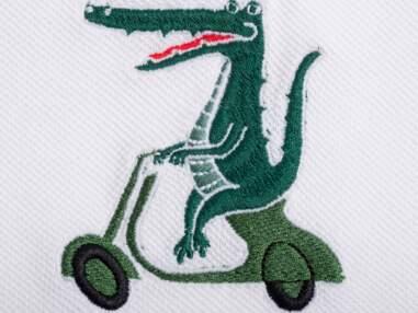 Les métamorphoses du crocodile Lacoste