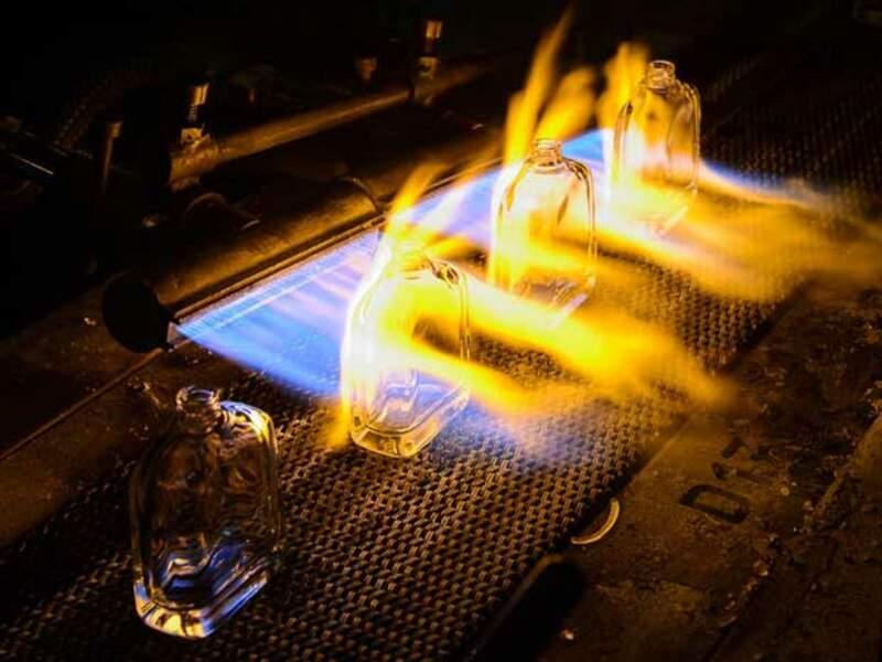 La chaleur permet d'améliorer la qualité du verre