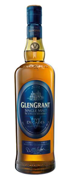 L'hommage Glen Grant Five Decades