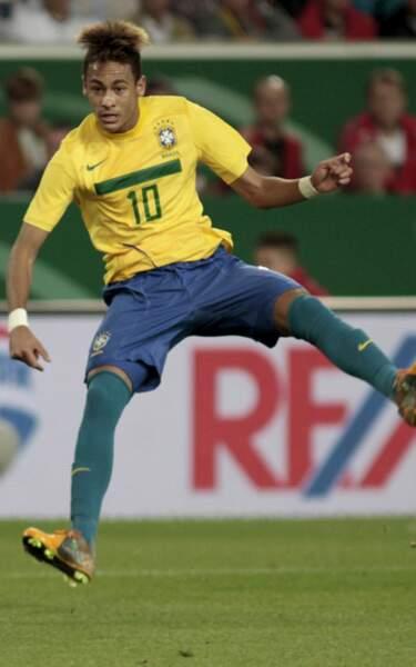 Neymar, Santos F.C