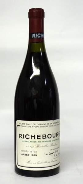 Richebourg, grand cru du domaine de la Romanée-Conti, 1989, (1 bouteille)