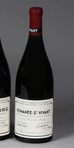 Romanée Saint Vivant, grand cru domaine de la Romanée-Conti, 1990 (1 bouteille)