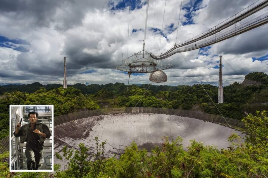 Le radiotélescope d'Arecibo (Porto Rico)