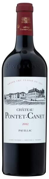Bordeaux, Pauillac 2012, Château Pontet-Canet