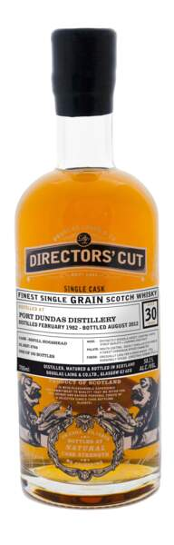 "La ""closed distillery"" Port Dundas 30 ans"