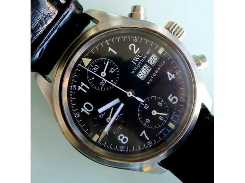 IWC, modèle Pilot Chronograph