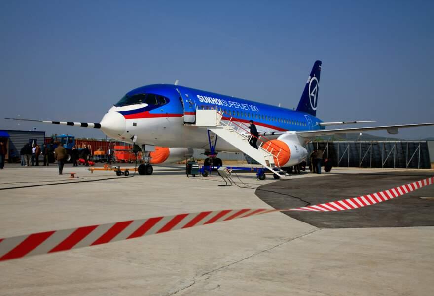 Le Superjet 100, un Sukhoi en version civile