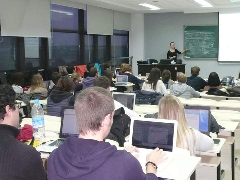 A l'IFC de Suzhou, tous les cours sont dispensés en anglais ou en français