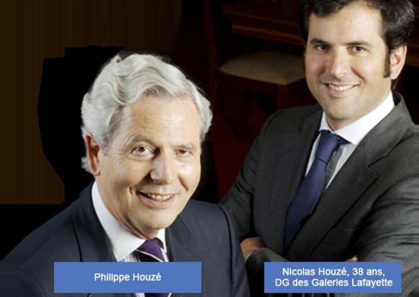 Galeries Lafayette : Nicolas Houzé travaille déjà en duo avec son père