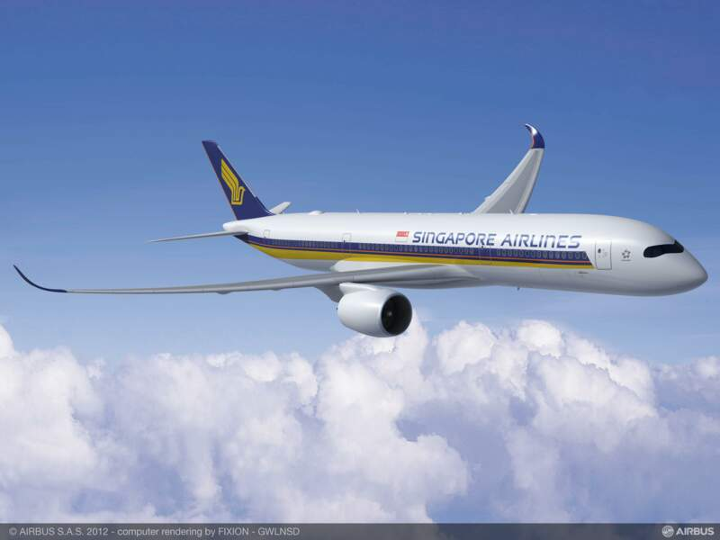30 A350 XWB pour Singapore Airlines