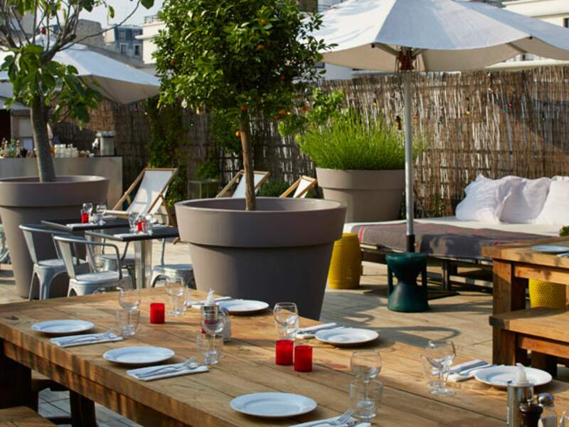 Convivial : Le rooftop intime du Mama Shelter