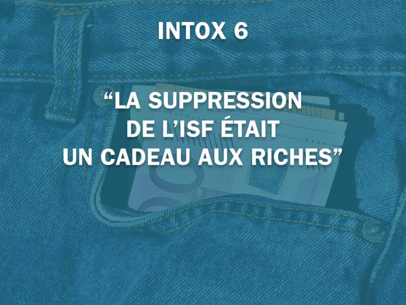 """La suppression de l'ISF était un cadeau aux riches"""