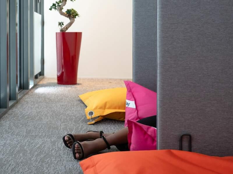 PricewaterhouseCoopers : une salle de sieste