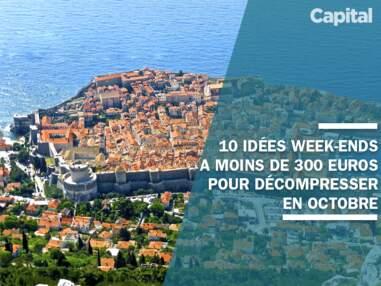 10 idées week-ends à moins de 300 euros pour décompresser en octobre