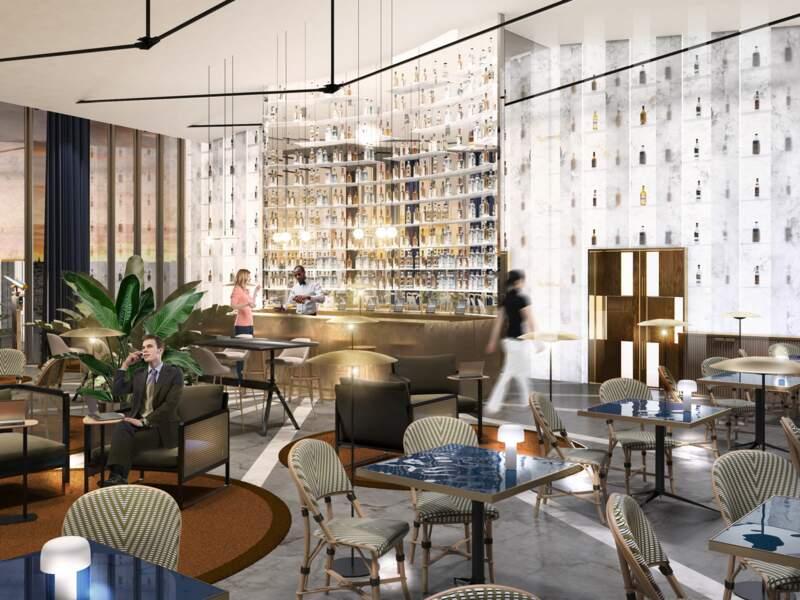 Pernod Ricard : un bar panoramique