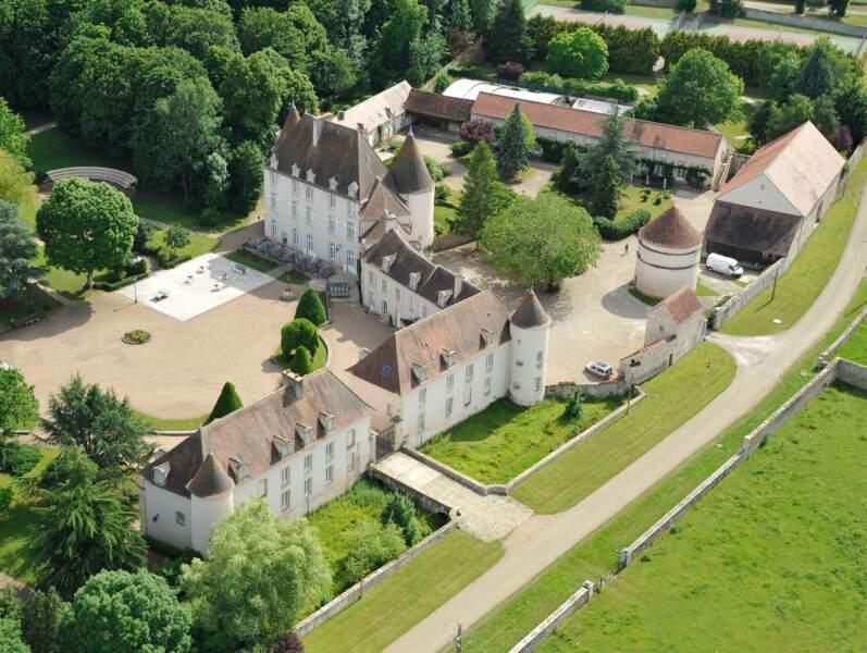 Le château de Ragny du CE Banque de France
