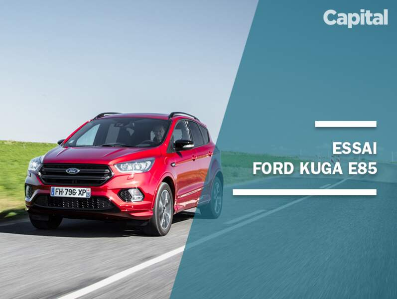 Essai Ford Kuga E85