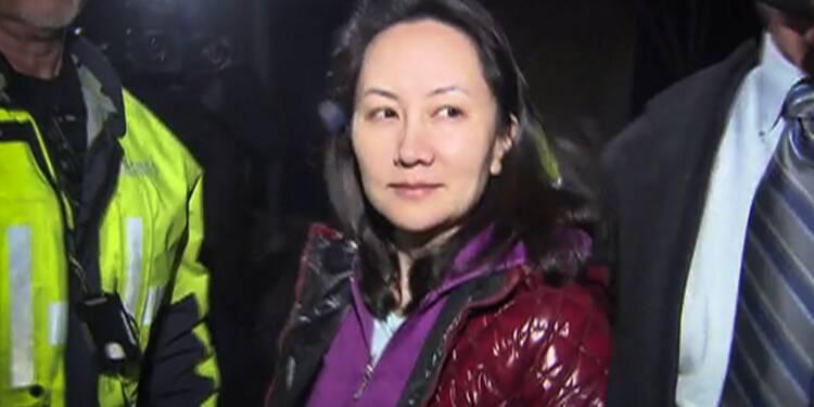 Canada: la responsable de Huawei libérée sous caution